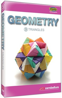 Teaching Systems Geometry Module 3: Triangles DVD   -