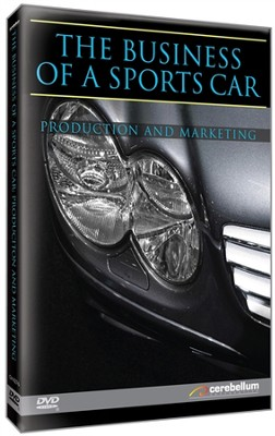 The Business of a Sports Car: Production & Marketing DVD   -