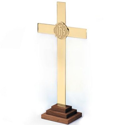 "Chapel Line Altar Cross, 24""    -"