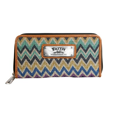 Faith, Chevron Wallet  -