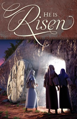 He Is Risen (Easter), Bulletins, 100  -