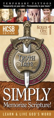 TruthTats Scripture Memorization Program, Series One (HCSB)  -