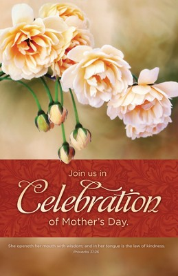 Mother's Day Celebration (Proverbs 31:21) Bulletins, 100  -