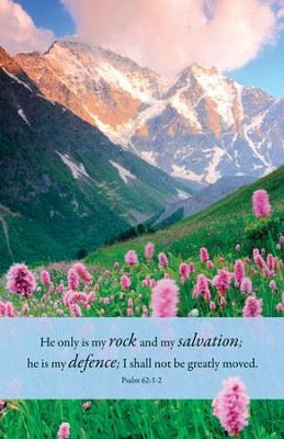 My Rock (Psalm 62:1-2) Bulletins, 100  -