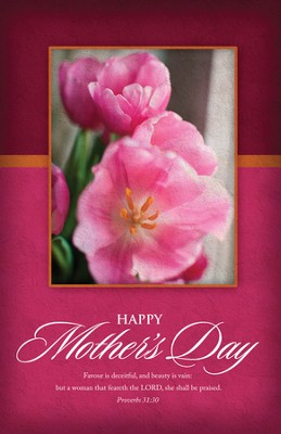 In Praise of Mothers (Proverbs 31:30)/100 Bulletins  -