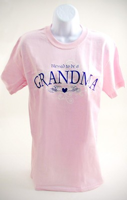 Blessed To Be A Grandma, Adult T-shirt, XX-Large (50-52)  -