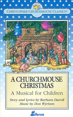 A Churchmouse Christmas, Stereo Cassette   -