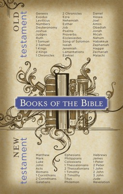 Books of the Bible, Postcards, 25  -