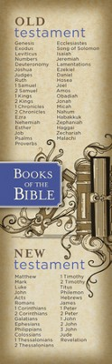 Books of the Bible, Bookmarks, 25  -