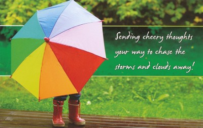 Umbrella (Numbers 6:24) Postcards, 25  -