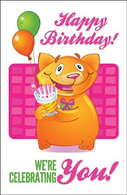 Happy Birthday (Philemon 4, NIRV) Postcards, 25  -