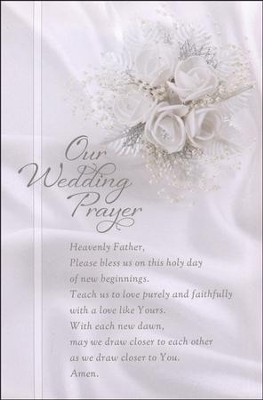 Our Wedding Prayer, Bulletins, 100  -