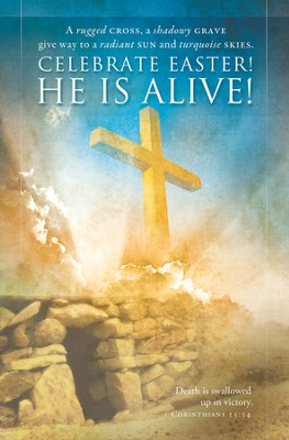 He is Alive (1 Corinthians 15:54) Bulletins, 100  -