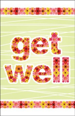 Get Well (Proverbs 17:22, NIV) Postcards, 25  -