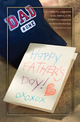 Compassionate Father (Psalm 103:13, NIV)--Father's Day Bulletins/100  -