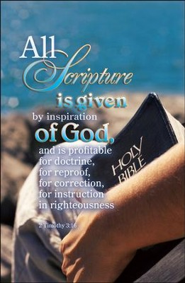 Scripture Inspiration of God, Bulletins, 100  -