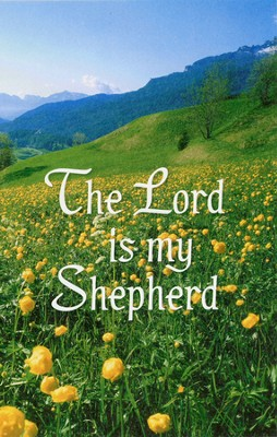 The Lord is My Shepherd, Yellow Flowers, Bulletins, 100  -