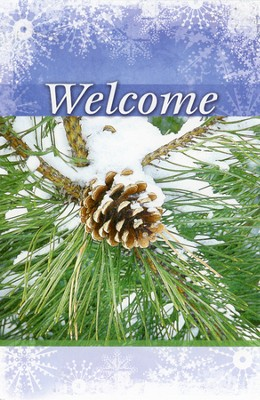 Welcome, Pinecones, Bulletins, 100  -