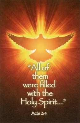 Filled with the Holy Spirit (Acts 2:4), Bulletins, 100  -