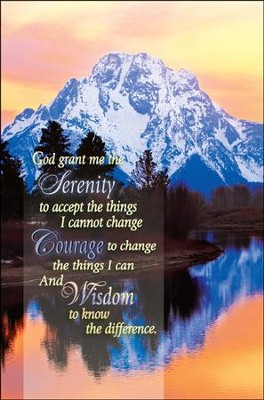 Serenity Prayer, Bulletins, 100  -