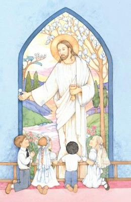 Christ With Children Kneeling, Bulletins, 100  -