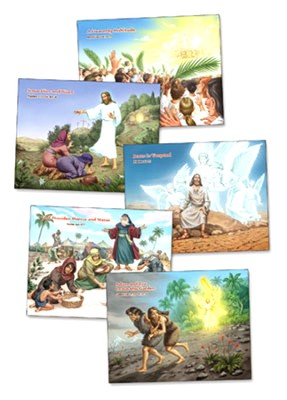 Bible Story Posters 5 (43 x 60) - Slightly Imperfect  -