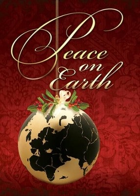 Peace on Earth (Luke 2:14) Box of 12 Christmas Cards  -