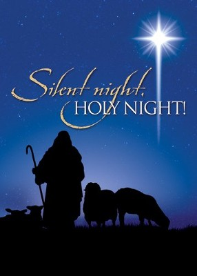 Holy Night (Luke 2:11) Box of 12 Christmas Cards  -