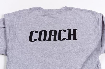 Coach T-shirt, Adult Small (36-38)   -