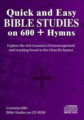 Quick and Easy Bible Studies on 600+ Hymns--CDROM  -     By: James Shaw