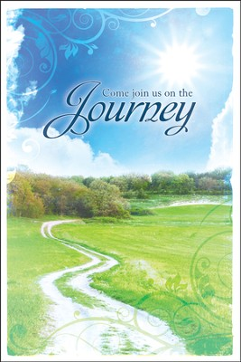 Join Us On the Journey (Psalm 25:4) Welcome Folder, 12  -