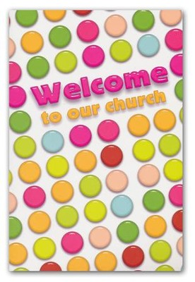 Welcome to our Church (Psalm 126:3, NIV) Welcome Folder, 12  -