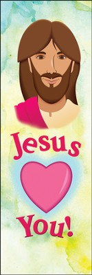 Jesus Loves You (John 15:12, NIV) Bookmarks, 25  -