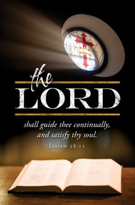 Lord Guide Thee (Isaiah 58:11) Bulletins, 100  -