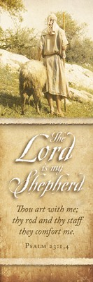 Lord is My Shepherd (Psalm 23:1,4) Bookmarks, 25  -