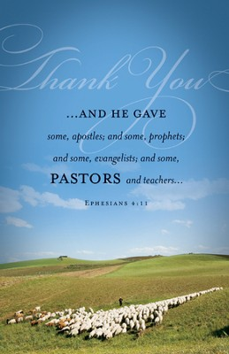 Pastor Appreciation (Ephesians 4:11) Bulletins, 100  -