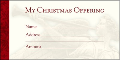 Christmas Offering Envelopes (Luke 2:10-11) 100  -