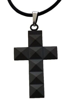 Stud Cross Pendant  -