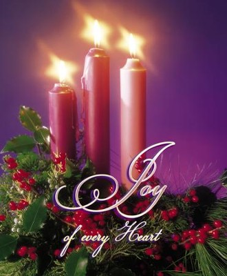 Joy of Every Heart Large Advent Bulletins, 100  -