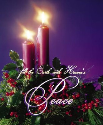 Fill the Earth with Heaven's Peace Large Advent Bulletins, 100  -
