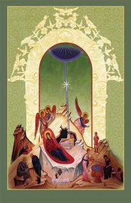 Icon Nativity Christmas Bulletins, 100  -