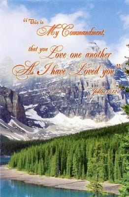 Love One Another As I Have Loved You (John 15:12, NKJV) Bulletins, 100  -