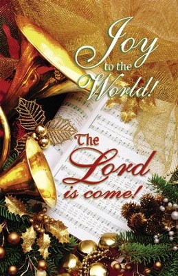 Joy to the World the Lord is Come, Christmas Bulletins, 100  -