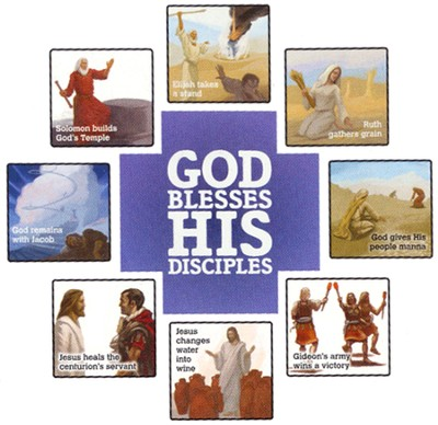 God Blesses His Disciples, Bulletin Board    -