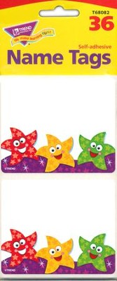 Dancing Stars Name Tags  -