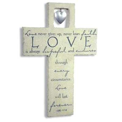 Love Wall Cross   -