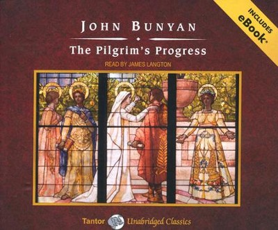 The Pilgrim's Progress, Unabridged Audiobook on CD with eBook  -     By: John Bunyan