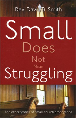 Small Does Not Mean Struggling: and other stories of small church propaganda  -     By: Rev. David B. Smith