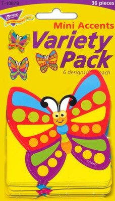 Fancy Butterfly Mini Variety Pack Classic Accent  -