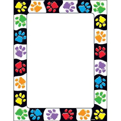 Paw Prints Terrific Papers  -